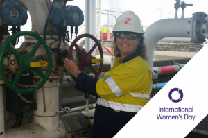 Men's work? Meet Triss Habgood, Terminal Manager at Z Energy