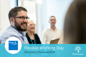 FWDay2018: At Bupa, It's OK to Flex for Your Day